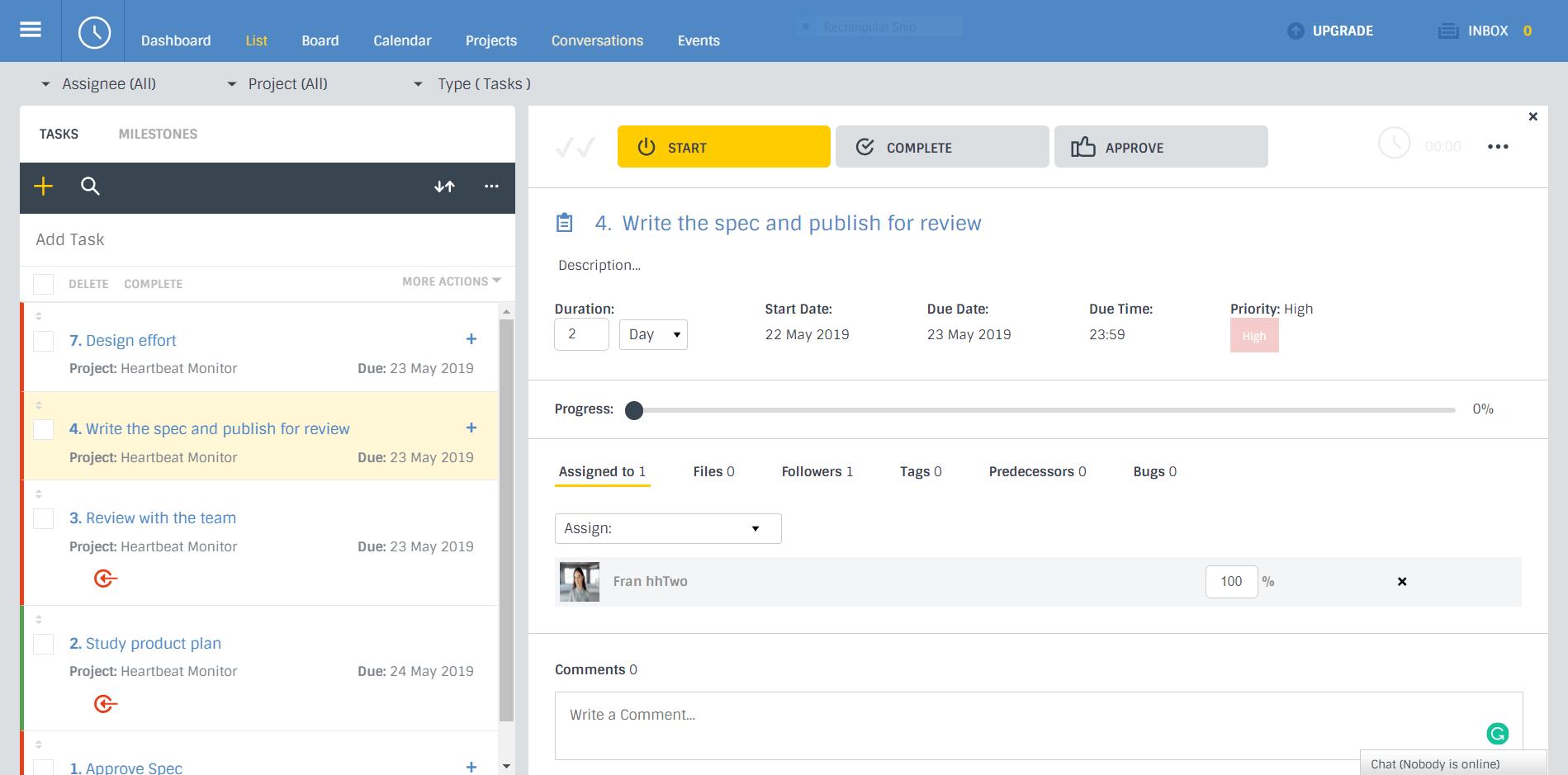 work management software list