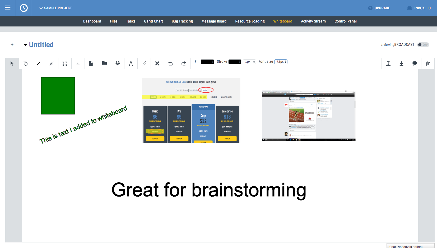Interactive whiteboard is great tool for brainstorming | Binfire